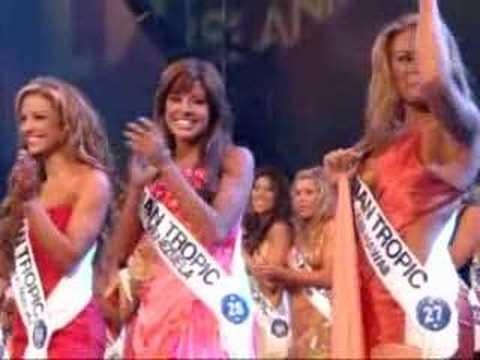 Miss Hawaiian tropic 2006 - Final