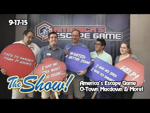 Attractions - The Show - America's Escape Game; O-Town MacDown; latest news - Sept. 17, 2015