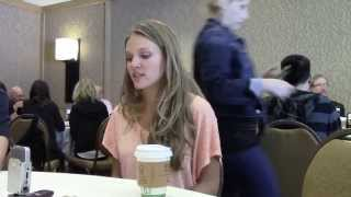 Comic Con: REVOLUTION: Tracy Spiridakos (2013)