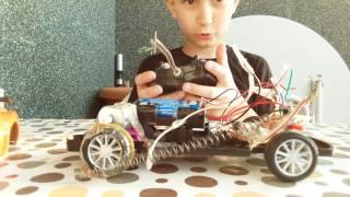 Kumandalı araba yapımı