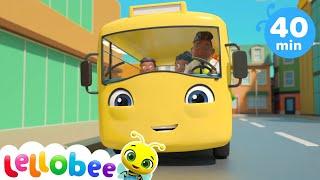 Learn Numbers | 10 Little Buses | +More Baby Songs | Nursery Rhymes | Little Baby Bum