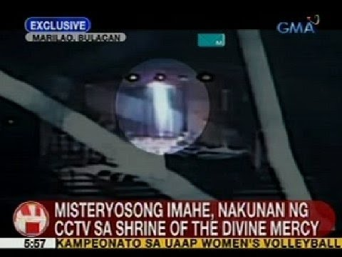 Ub: Misteryosong Imahe, Nakunan Ng Cctv Sa Shrine Of The Divine Mercy video