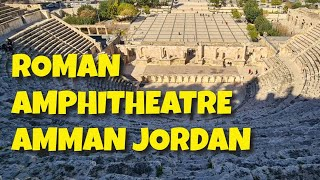 Video: Tour of Roman Amphitheatre, Amman, Jordan - Two Boomers