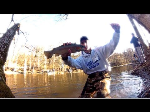 NJ Opening Day of Trout Fishing 2013