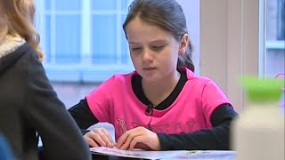 Amira Willighagen - At School & Concert with Paul Potts - November 2014