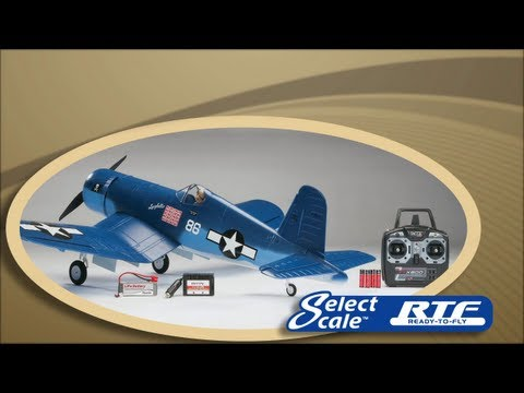 Flyzone Select Scale F4U Corsair RTF and Tx-R