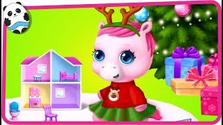 Fun Pony Care Kids Games - Pony Sisters Christmas - Secret Santa Gifts Game for Children