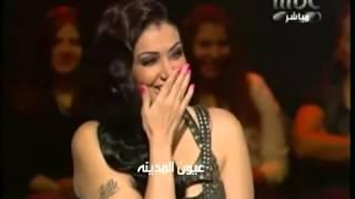 اكبر فضيحه الفنانه غاده عبد الرازق تعرض صدرها على الهواء