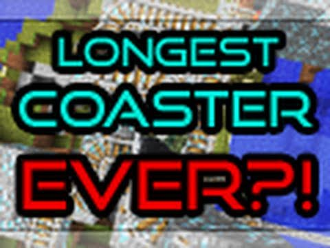 MINECRAFT | Longest Roller Coaster?!