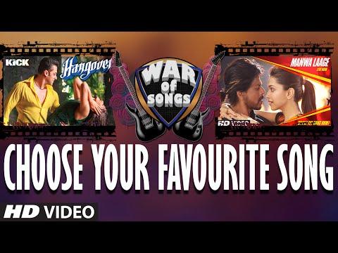 War of Songs - Hangover OR Manwa Laage | Vote Now | Salman Khan, Shahrukh Khan