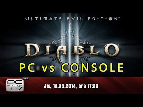 LIVE - Diablo 3 - PC vs Console