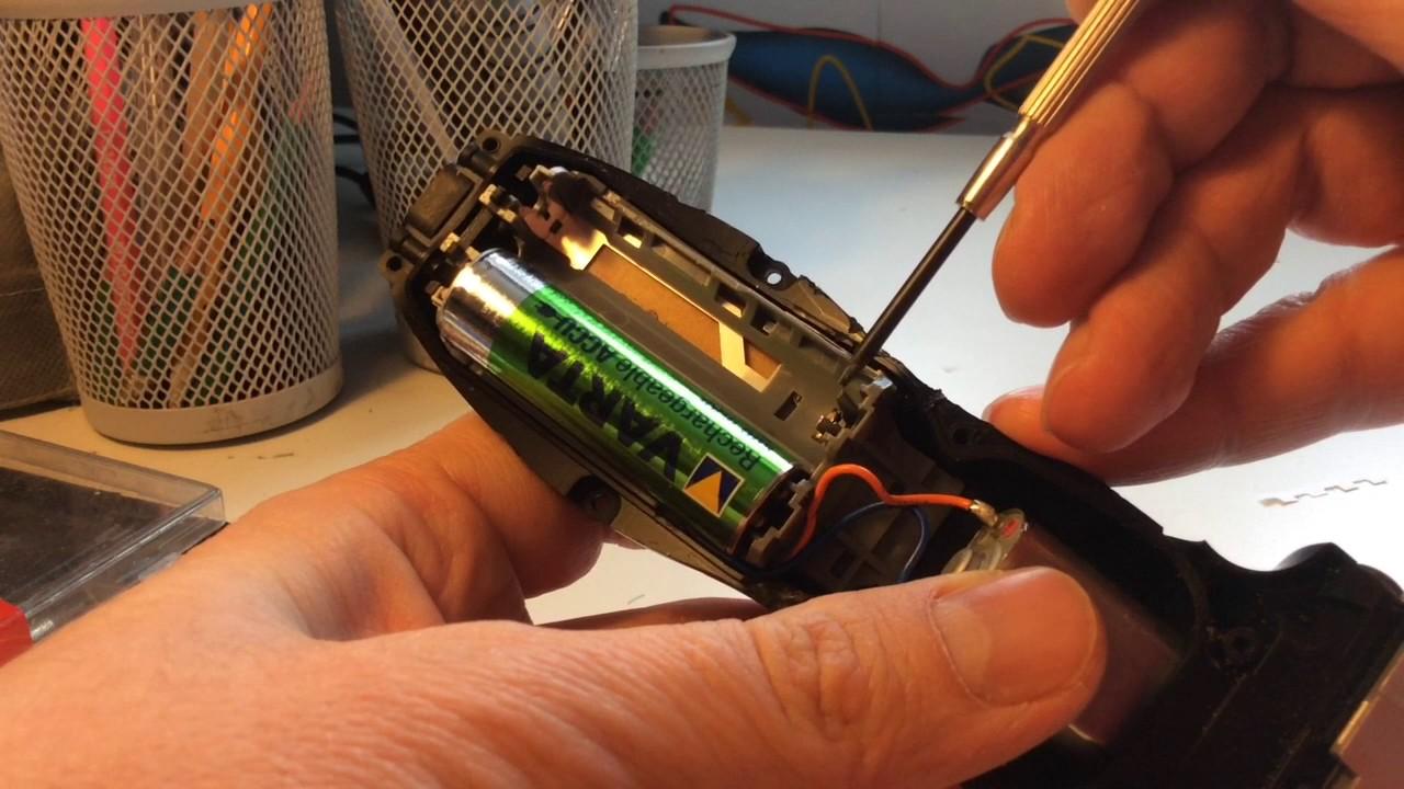 Ремонт электробритвы panasonic своими руками 25