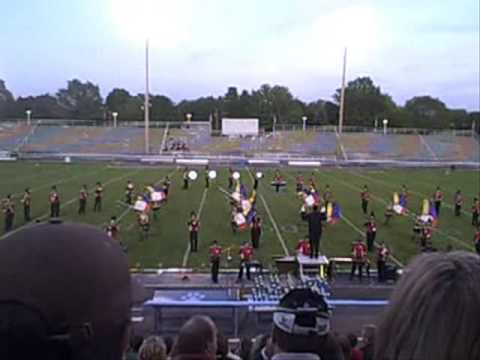 Struthers High School Marching Band @ Music in Motion 2009 Louisville, Ohio