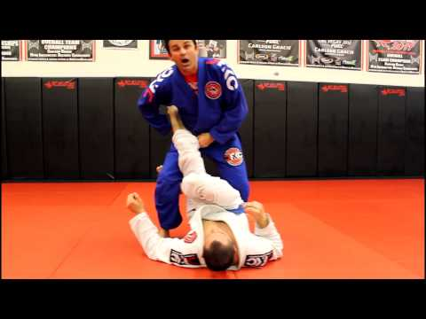 Jiu Jitsu Techniques - Ankle Lock From Open Guard Pass Image 1