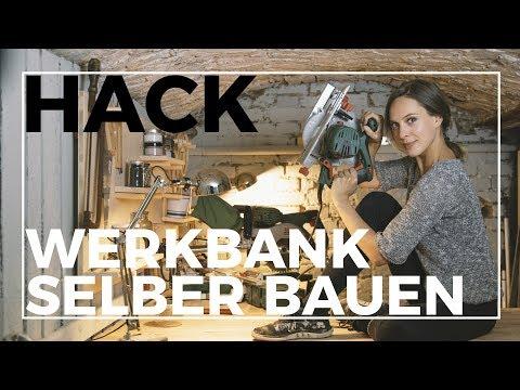 Ich baue mir eine Werkstatt!  | IKEA Hack: Werkbank aus Küchenschränken einfach selber bauen