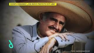 Armando Manzanero asegura que Vicente Fernández lanzará un nuevo disco   De Primera Mano