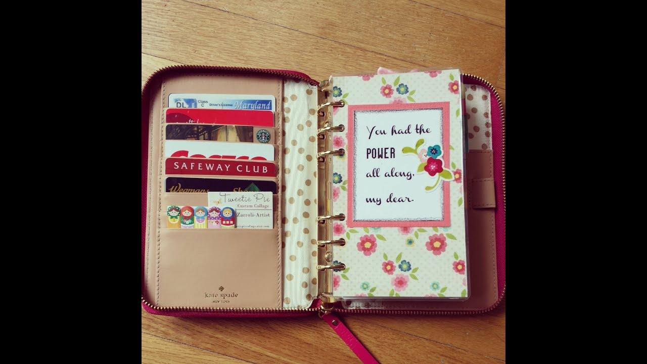 Kate Spade Calendar Planner : Kate spade wellesley planner with april set up youtube