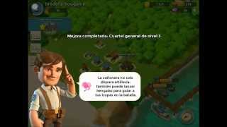 Boom Beach nivel 2 parte 2- broders chou