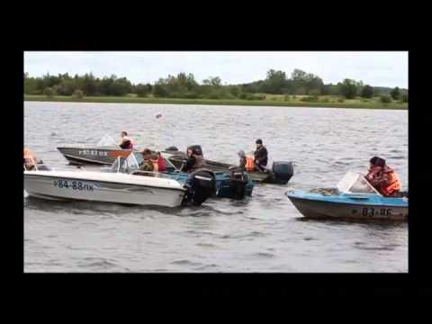 Гонки на моторных лодках (28.07.14)