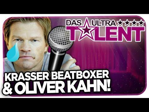 KRASSESTER BEATBOXER + OLIVER KAHN IMITAT - DAS ULTRATALENT