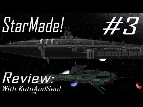 StarMade Review: MASSIVE SHIP! - Held-Tech Damocles