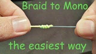 download lagu How To Tie Braid To Mono Leader Knot  gratis