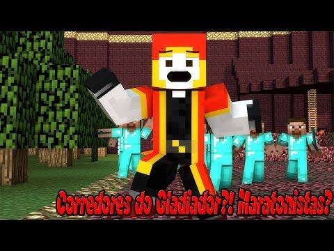 Observatório Minecraft - Corredores dos Gladiadores?! Maratonistas?! s2