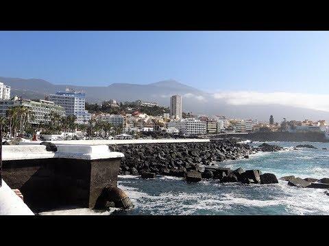Puerto de la Cruz - Tenerife | 4K