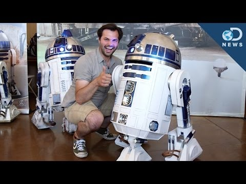 The Only Place You Can Meet R2D2 and 3D Scan Your Face