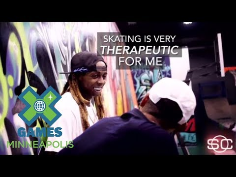 Lil Wayne: Skateboarding is Therapeutic | X Games Minneapolis 2017