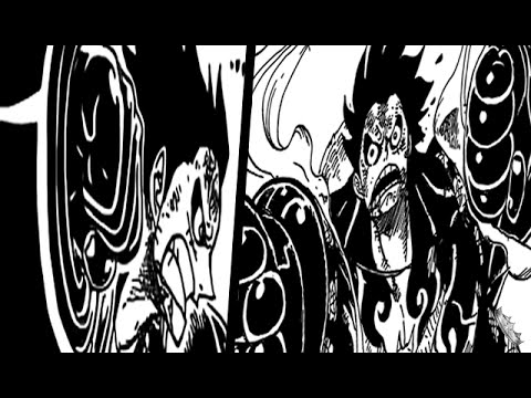 One Piece Chapter 784 Review - Gear Fourth Analysis - ワンピース video