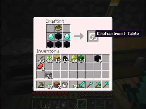 Como encantar un arma - Minecraft - YouTube