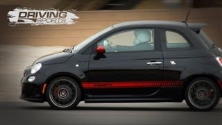 Driving Sports TV - Fiat 500 Abarth Reviewed
