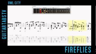 Fireflies - Owl City - Sungha Jung Acoustic Guitar Pro 6 Tabs + Sheet Music