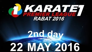 FRMK.TV : KARATE1 PREMIER LEAGUE RABAT 2016 (2nd Day) MOROCCO