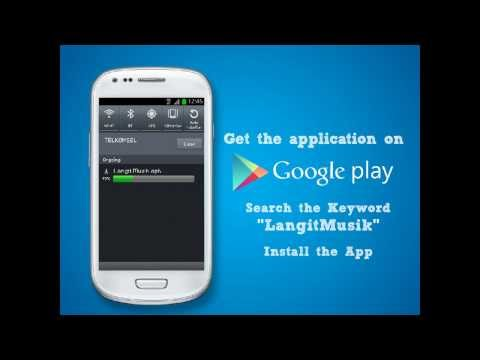 Tutorial LangitMusik for Android
