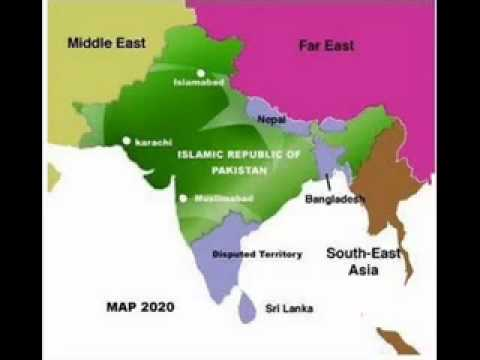 Future World Map In 2020 Rise india new 2020 map