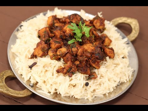 Fried Chicken And Caramelised Onion Rice | Sanjeev Kapoor Khazana