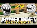 """PRANK GONE WRONG!"" - Crazy Craft 2.1 (Minecraft Modded Survival) - #29"