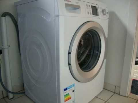 bosch avantixx 7 varioperfect my new washer how to. Black Bedroom Furniture Sets. Home Design Ideas