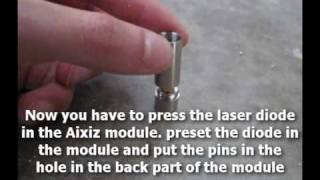DIY: How To Build A 1W Burning Blue Laser Torch!