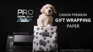 01. PDG Canon Gift Wrapping Paper - Canon Pro 2100 4100 6100