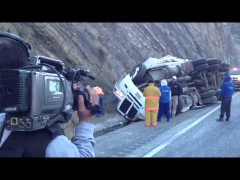 Saltillo accidenté en Los Chorros