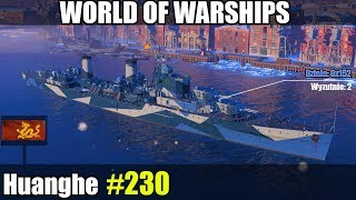 Huanghe - Wold of Warships gameplay i prezentacja.