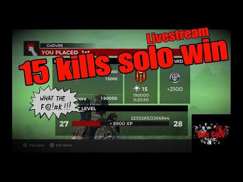 H1z1 Ps4 •15kills solo win •full game live