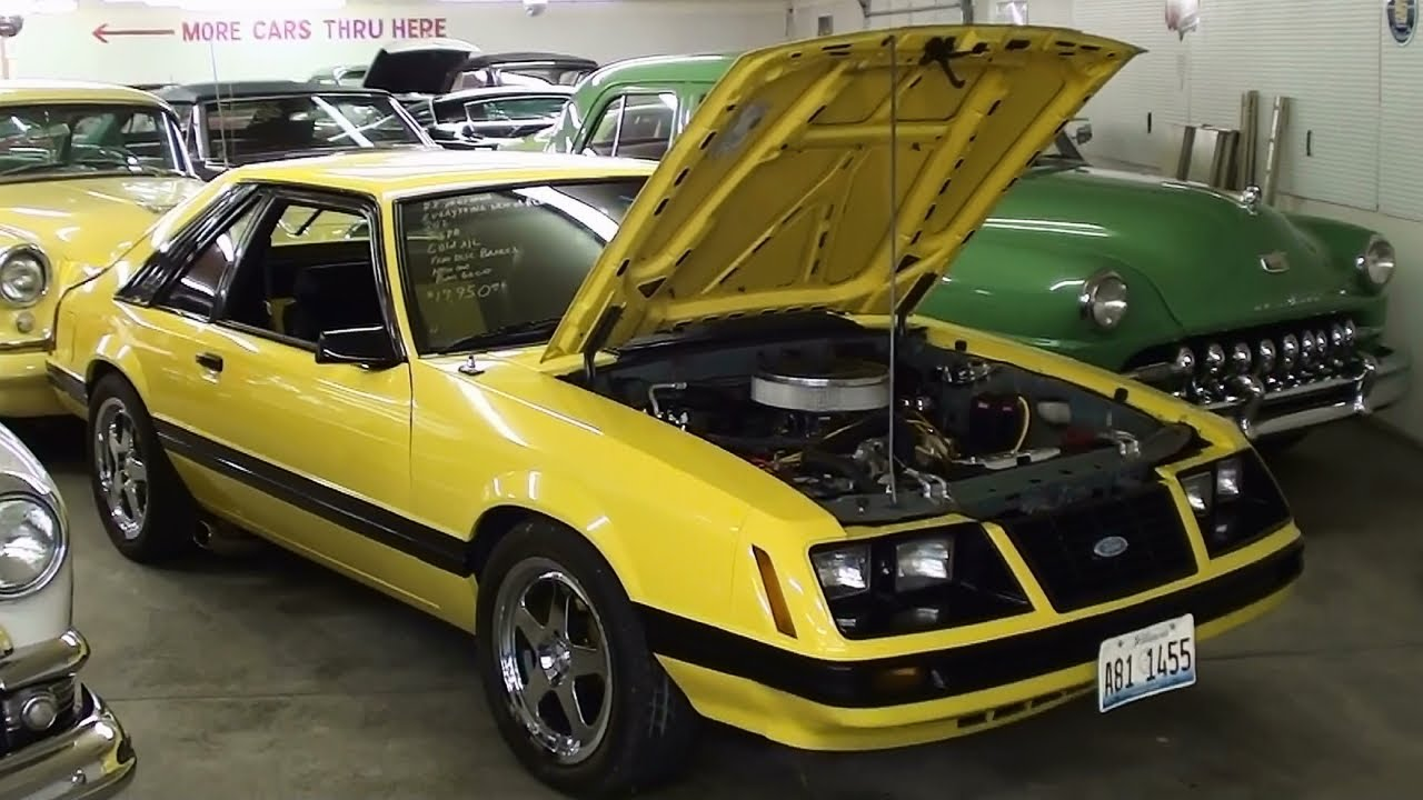 1983 Ford Mustang Gt 302 V8 Five Speed Youtube