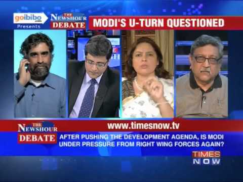 The Newshour Debate: How will Narendra Modi balance the 2002 riots issue? (The Full Debate)