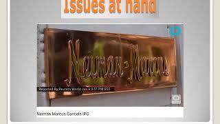 Neiman Marcus Group Graduate Project