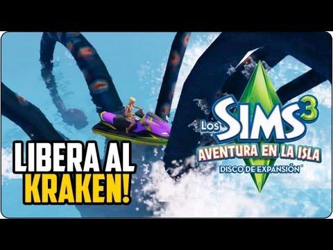 Los Sims 3 Aventura en la Isla   ¡LIBERA AL KRAKEN! (Tutorial)