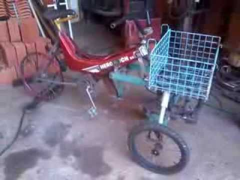 bike triciclo reverso. wmv